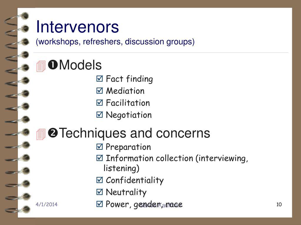 Intervenors