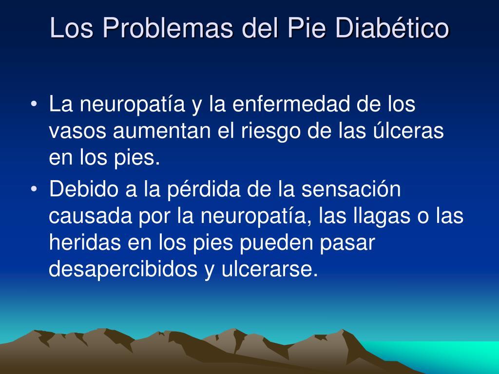 Los Problemas del Pie Diabético