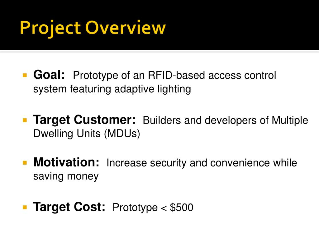 rfid access control system project pdf