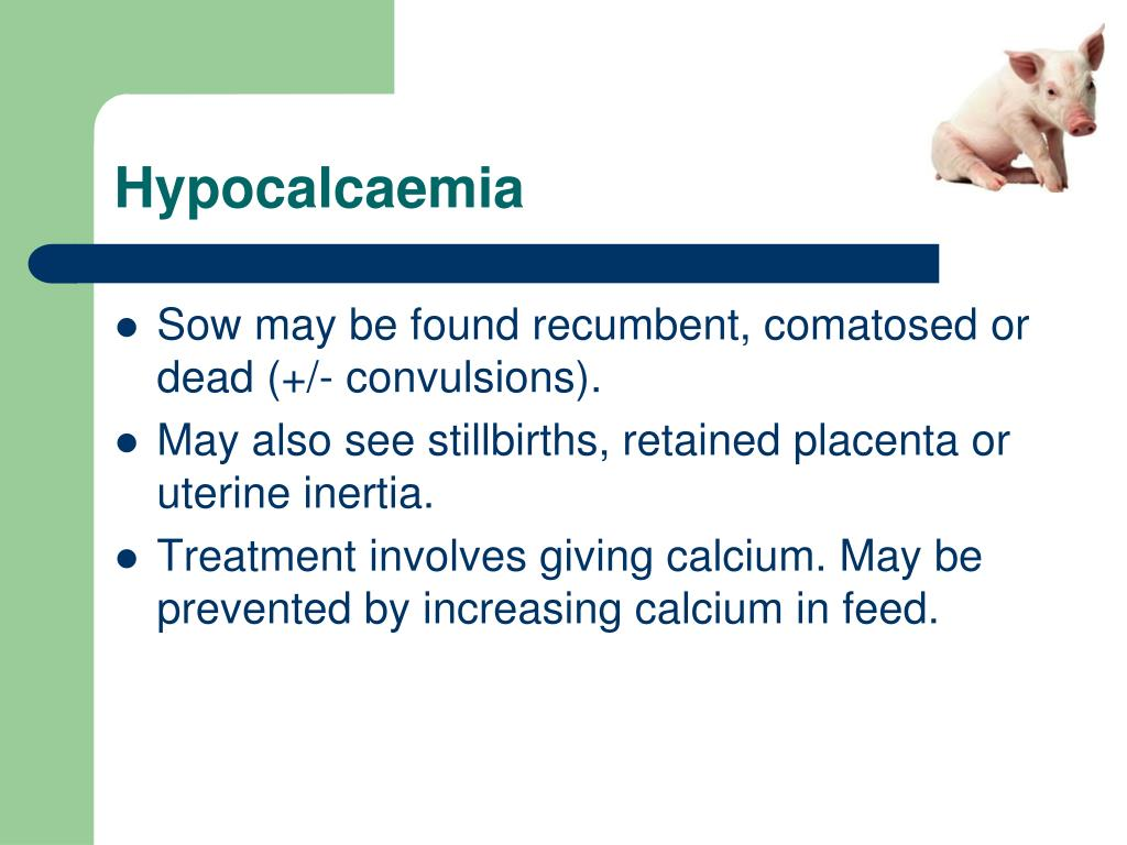 Hypocalcaemia