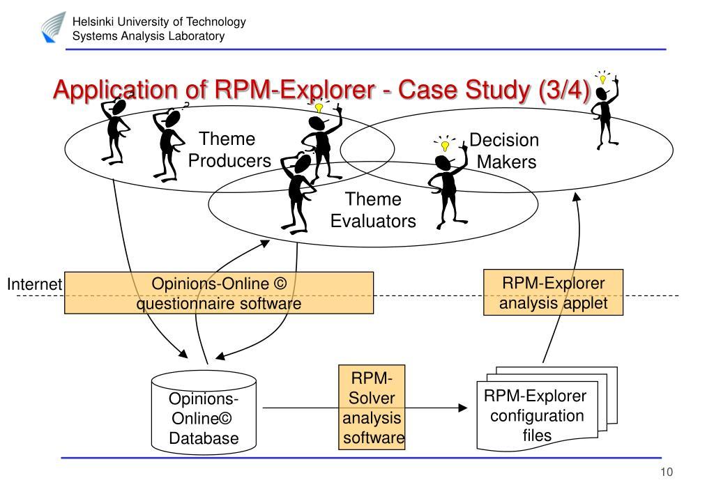 Application of RPM-Explorer - Case Study (3/4)