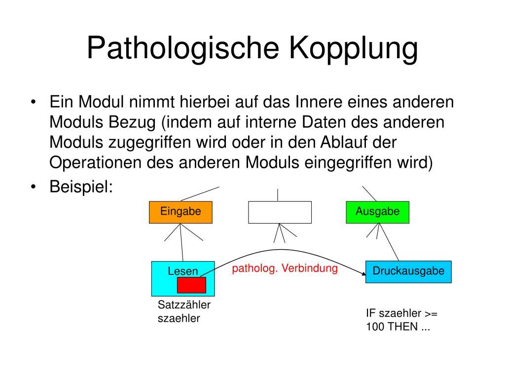 Pathologische Kopplung