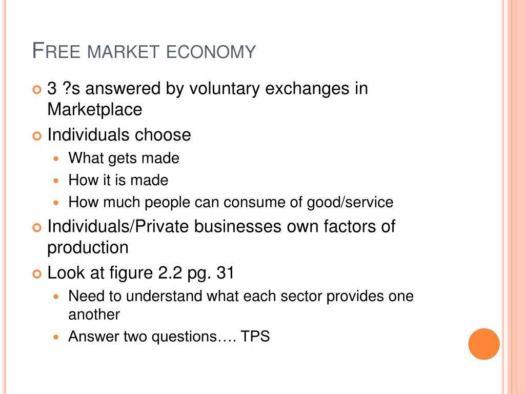 factors of market economy Free market economy is now an accepted form of market economy and which are the only allocating and distributing factor in a free market economy free market existing with the doctrines of socialism like limited regulation of prices by the government to protect the poor can be an.