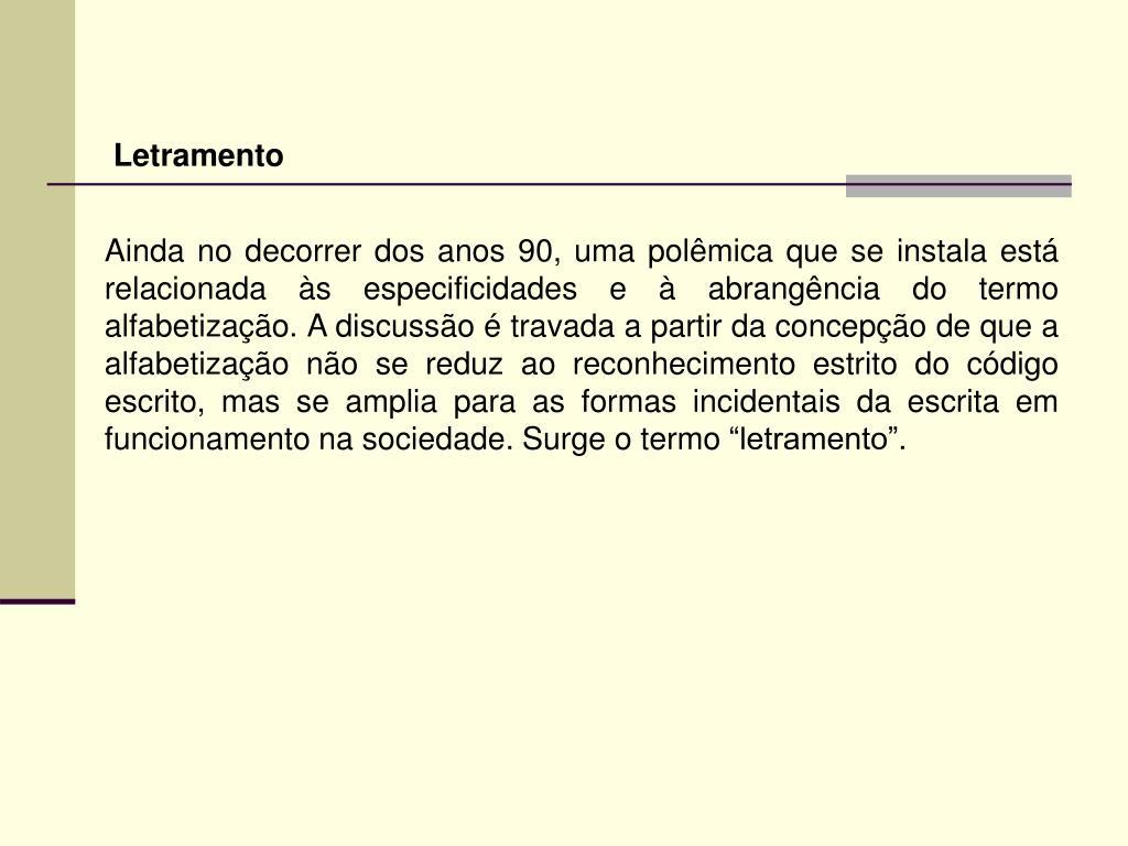 Letramento
