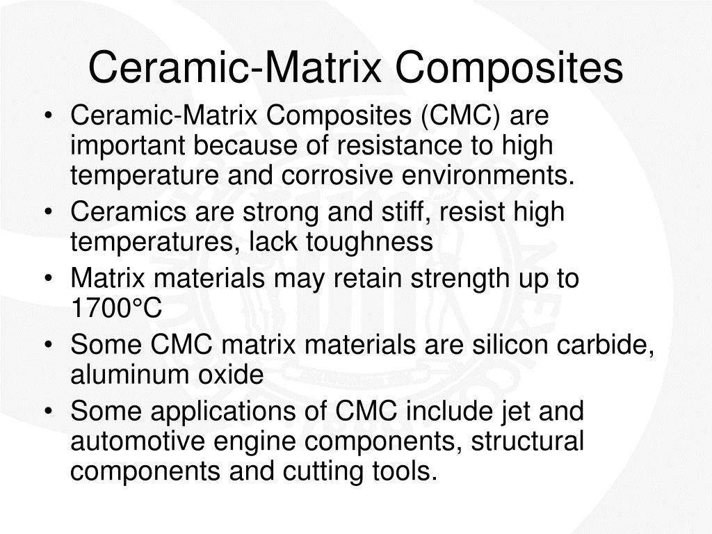 Ceramic-Matrix Composites
