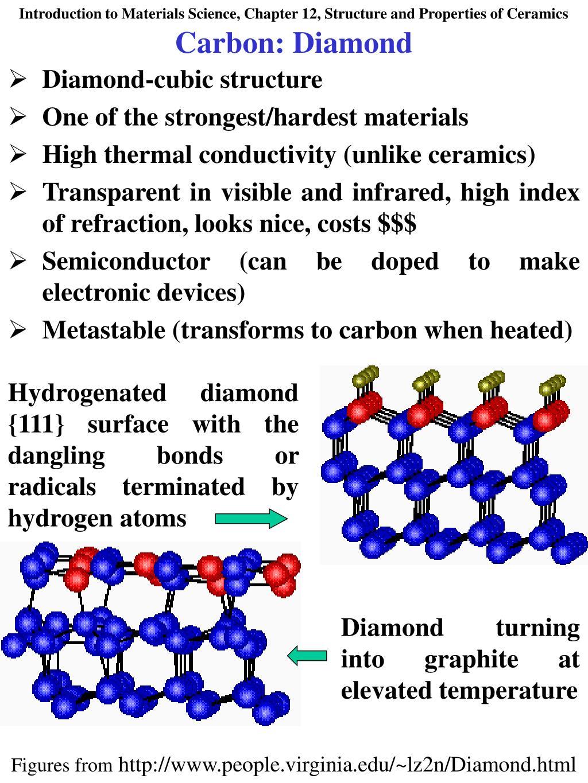 Carbon: Diamond