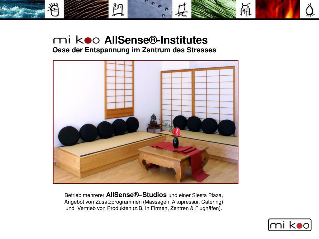 AllSense®-Institutes