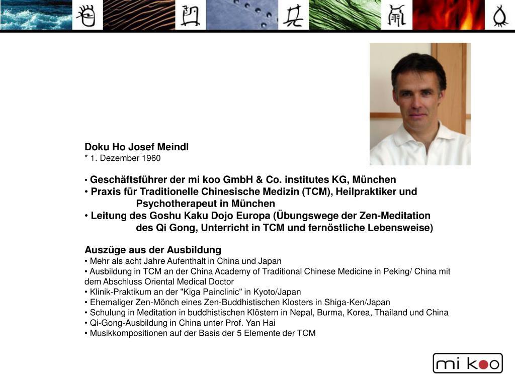 Doku Ho Josef Meindl