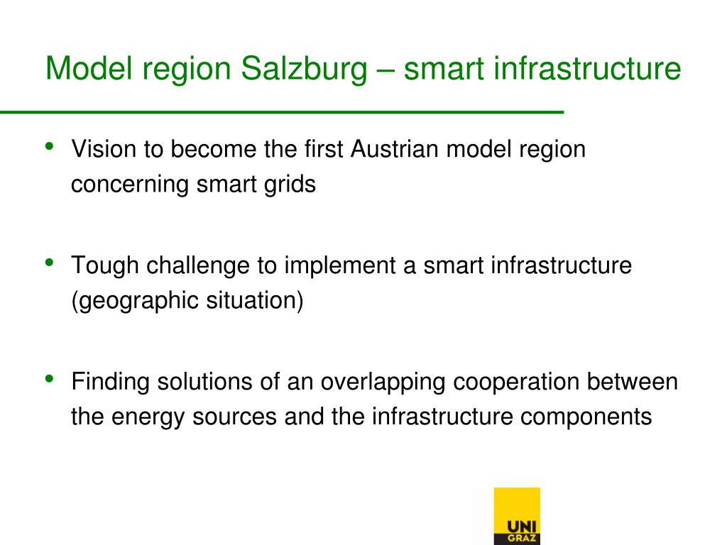 Model region Salzburg – smart infrastructure