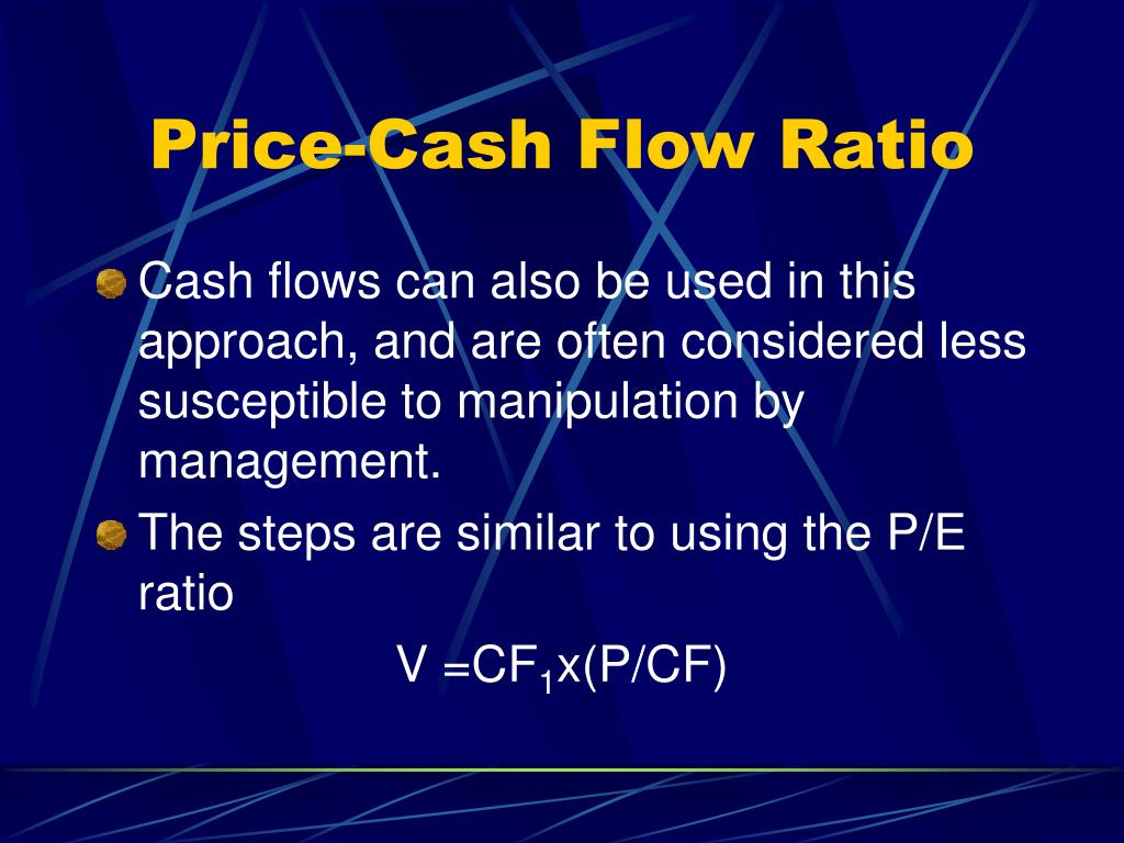 Price-Cash Flow Ratio