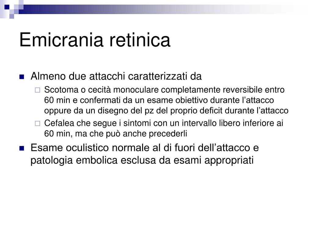 Emicrania retinica