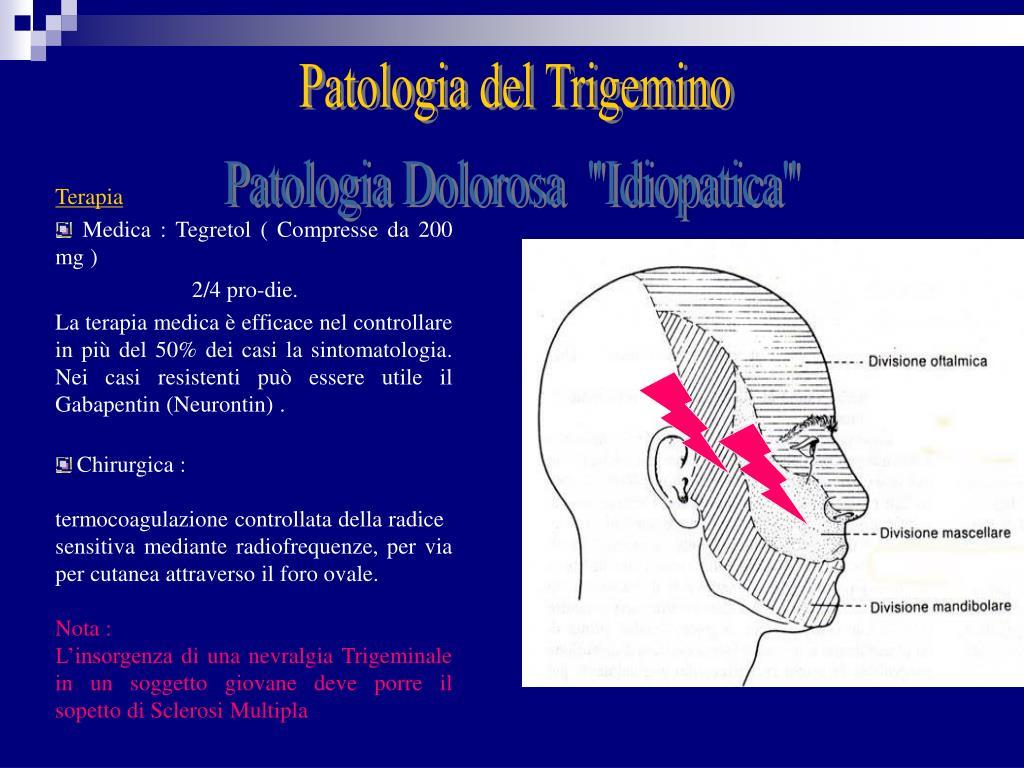 Patologia del Trigemino