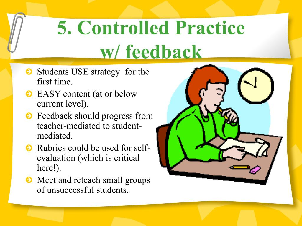 5. Controlled Practice
