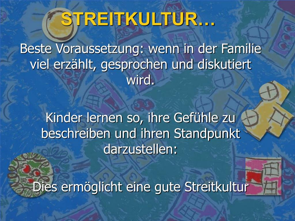 STREITKULTUR…