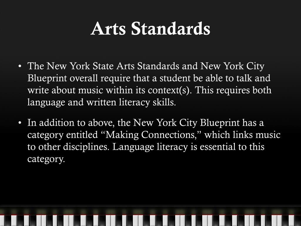 Arts Standards