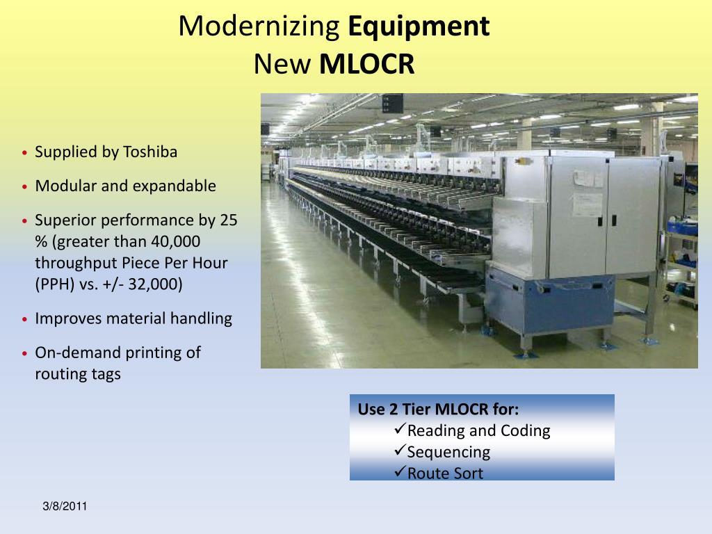 Modernizing
