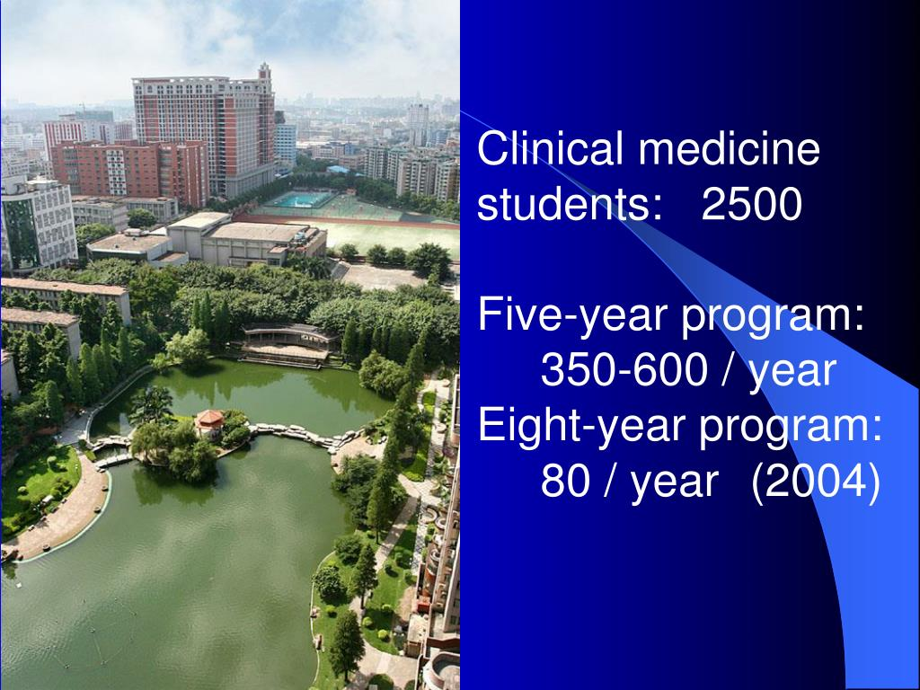 Clinical medicine students:   2500