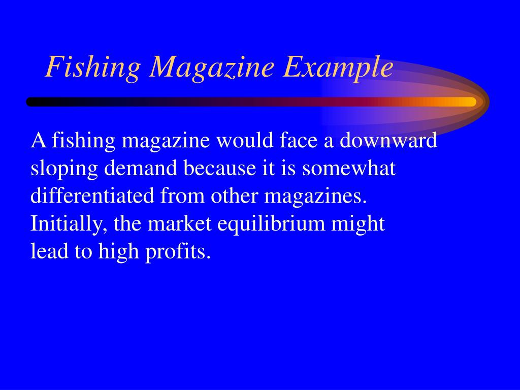 Fishing Magazine Example