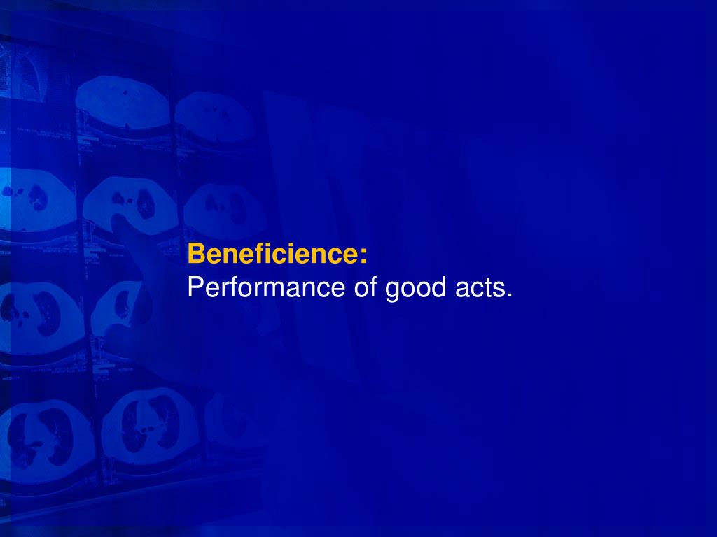 Beneficience: