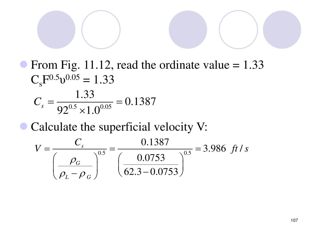 From Fig. 11.12, read the ordinate value = 1.33