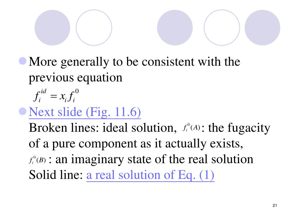 More generally to be consistent with the previous equation