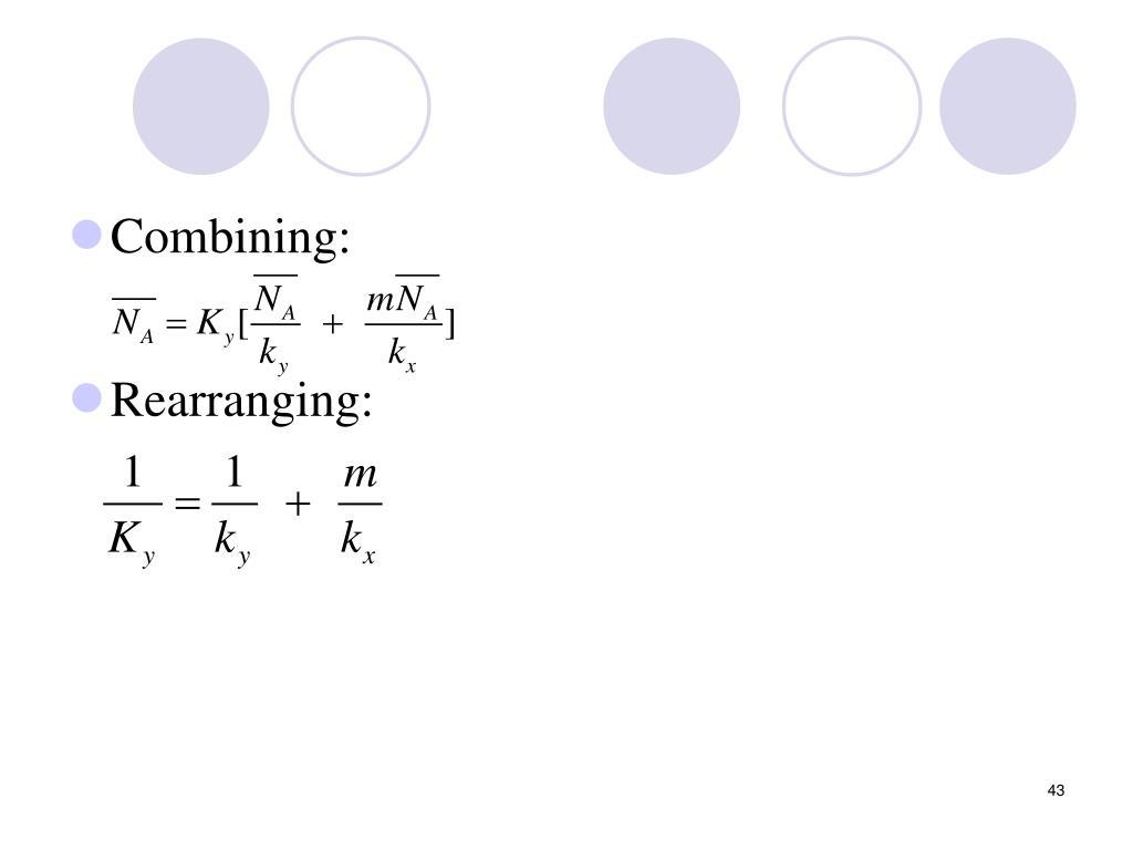 Combining: