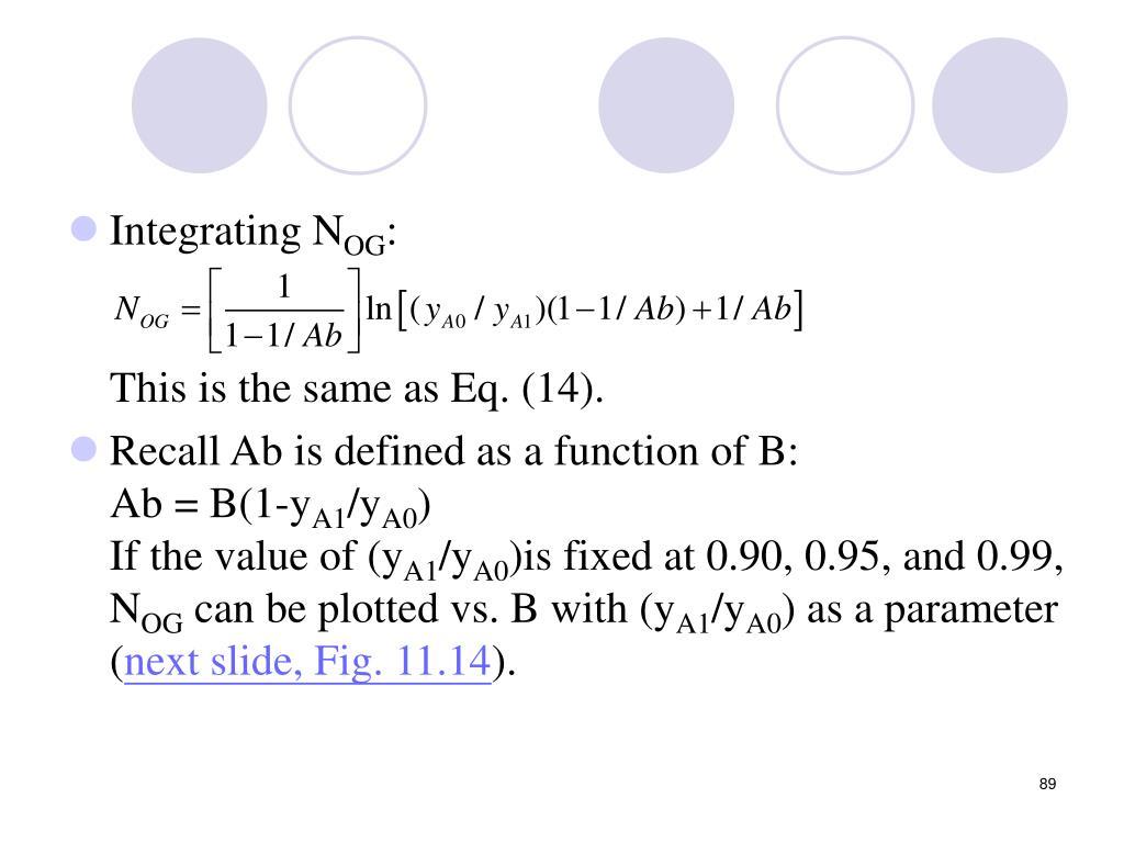 Integrating N