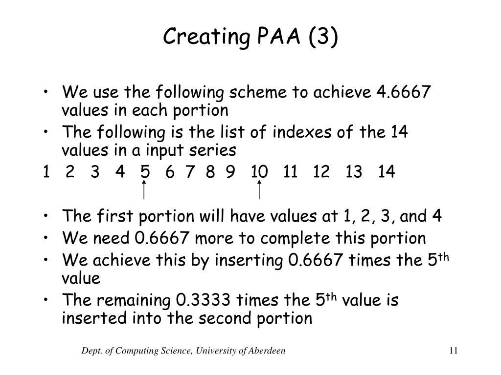 Creating PAA (3)