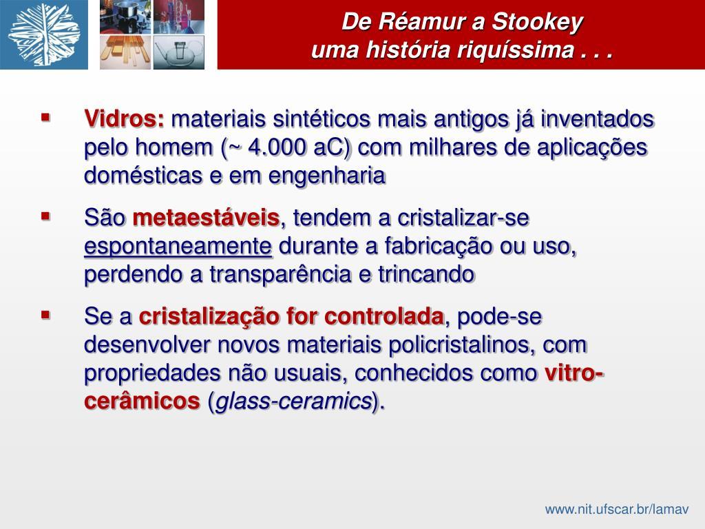 De Réamur a Stookey