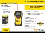 the solution long distance measuring