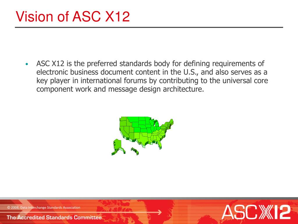 Vision of ASC X12