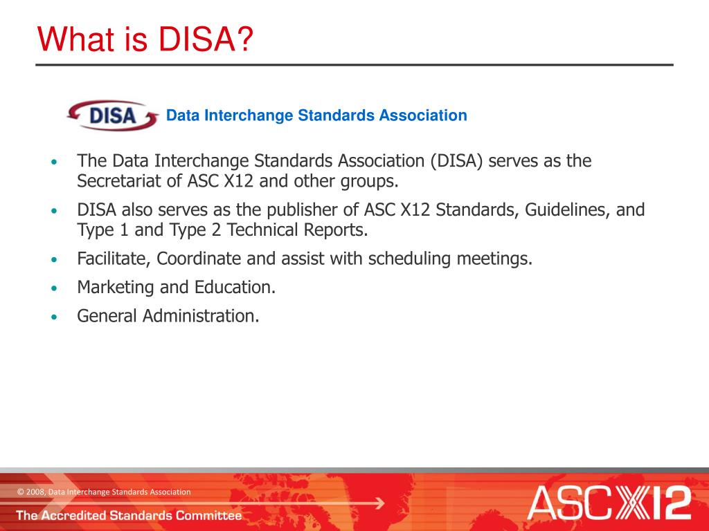 Data Interchange Standards Association