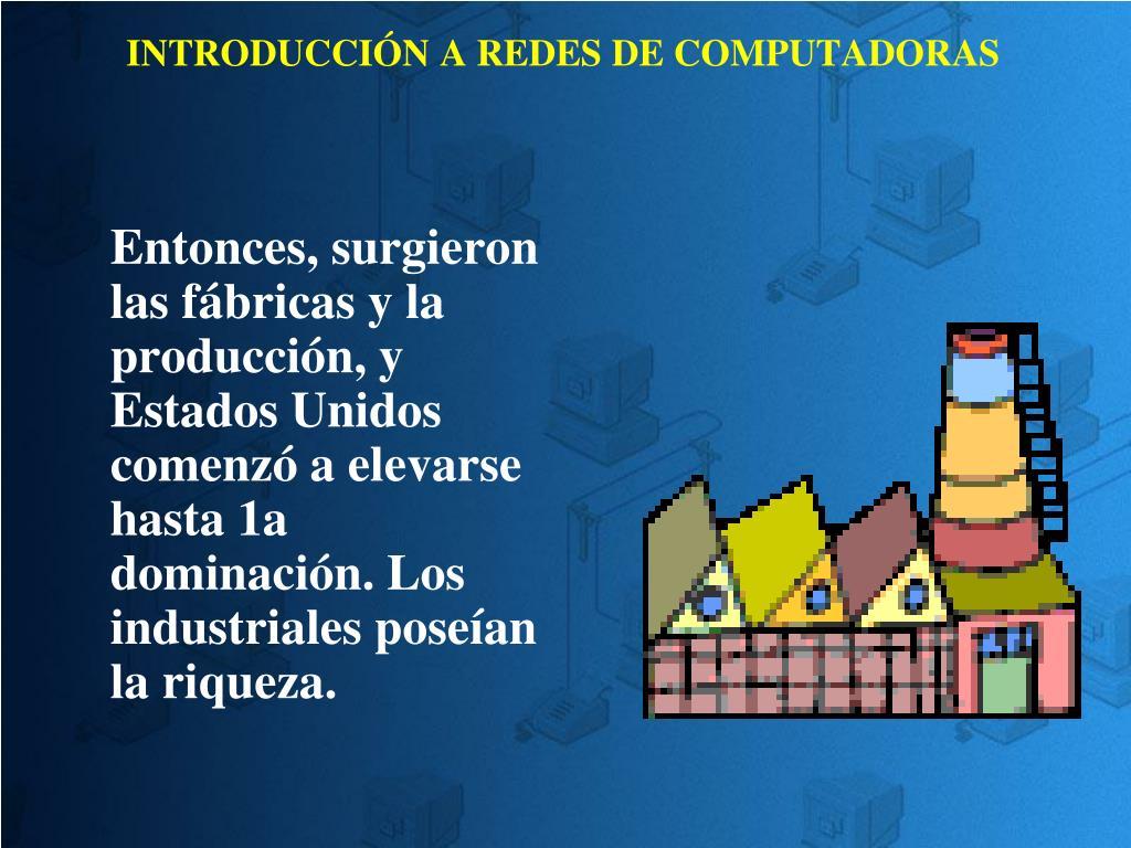 INTRODUCCIÓN A REDES DE COMPUTADORAS