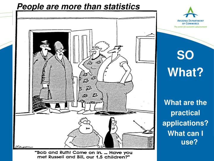 People are more than statistics