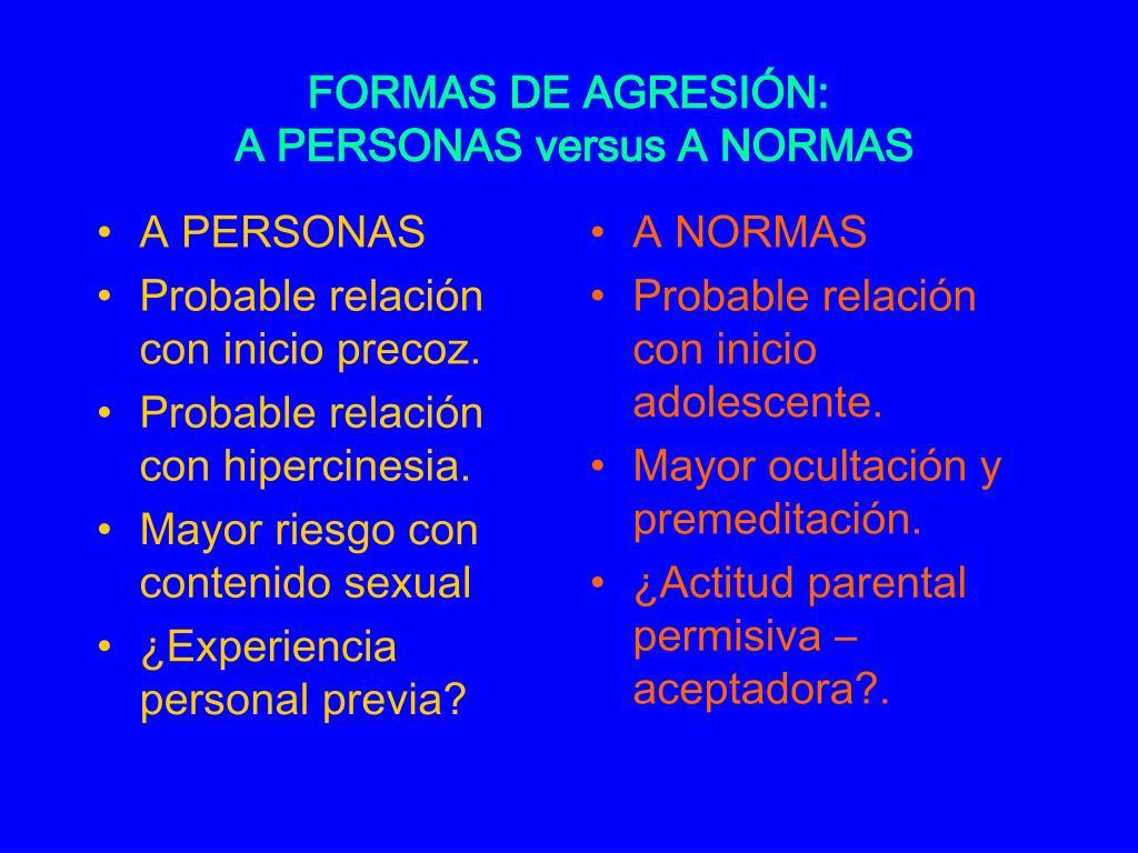 A PERSONAS