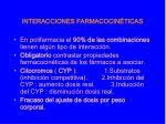 interacciones farmacocin ticas