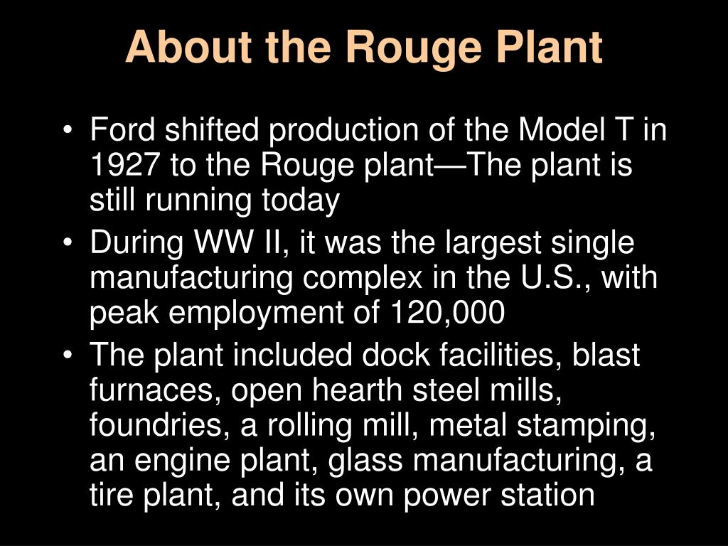 About the Rouge Plant