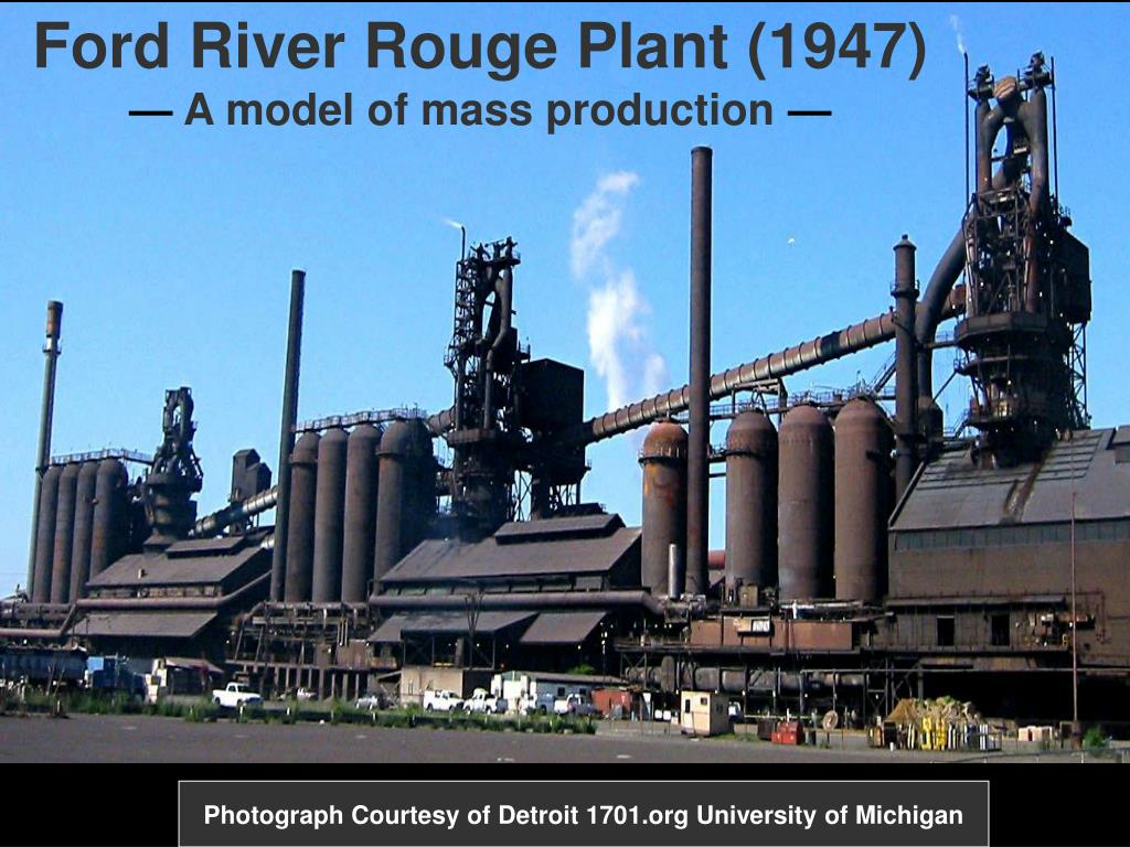 Ford River Rouge Plant (1947)