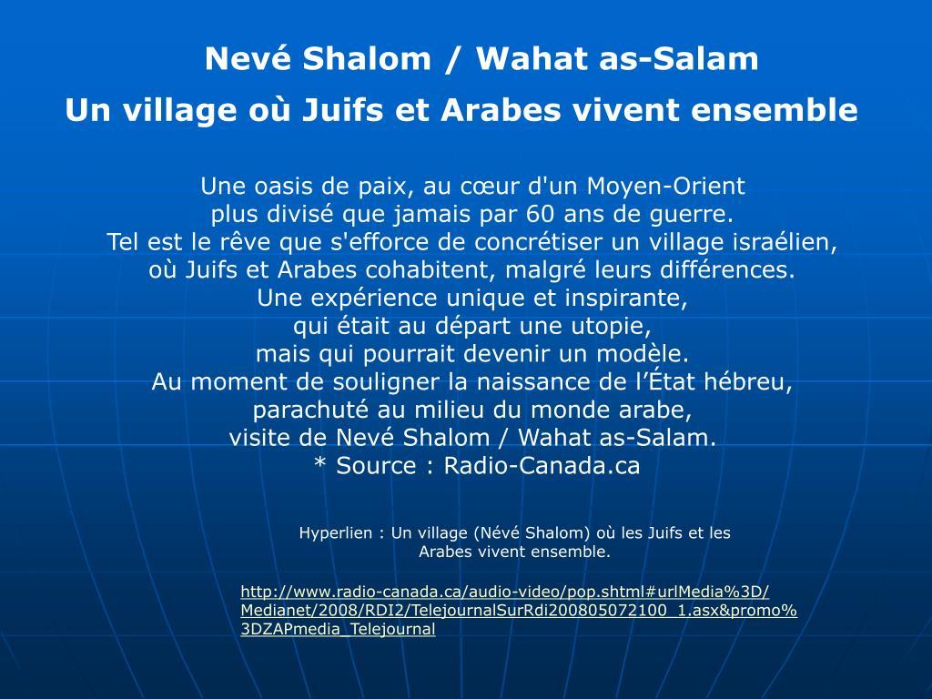 Nevé Shalom / Wahat as-Salam