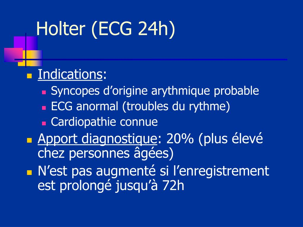 Holter (ECG 24h)