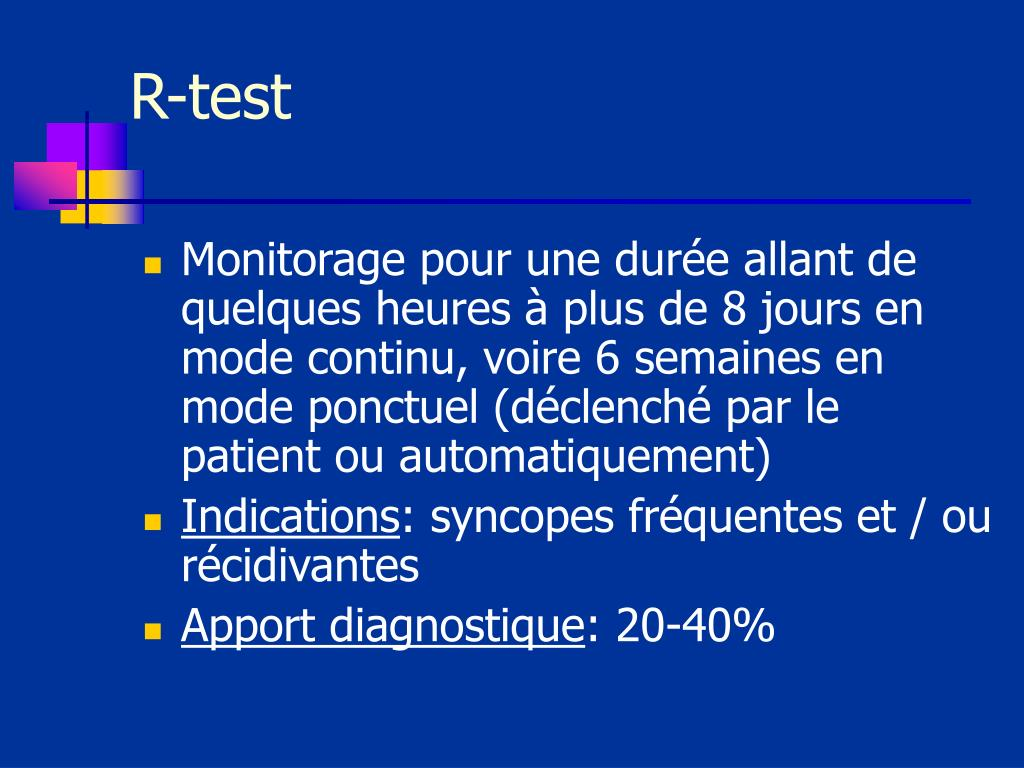 R-test
