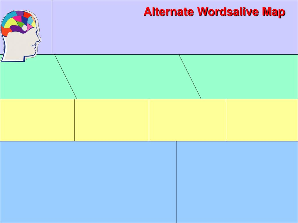 Alternate Wordsalive Map