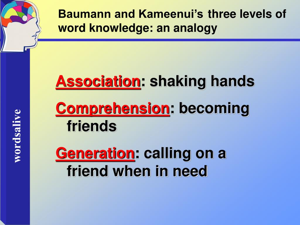 Baumann and Kameenui's