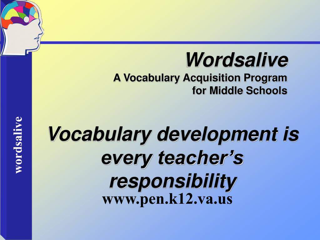 Wordsalive