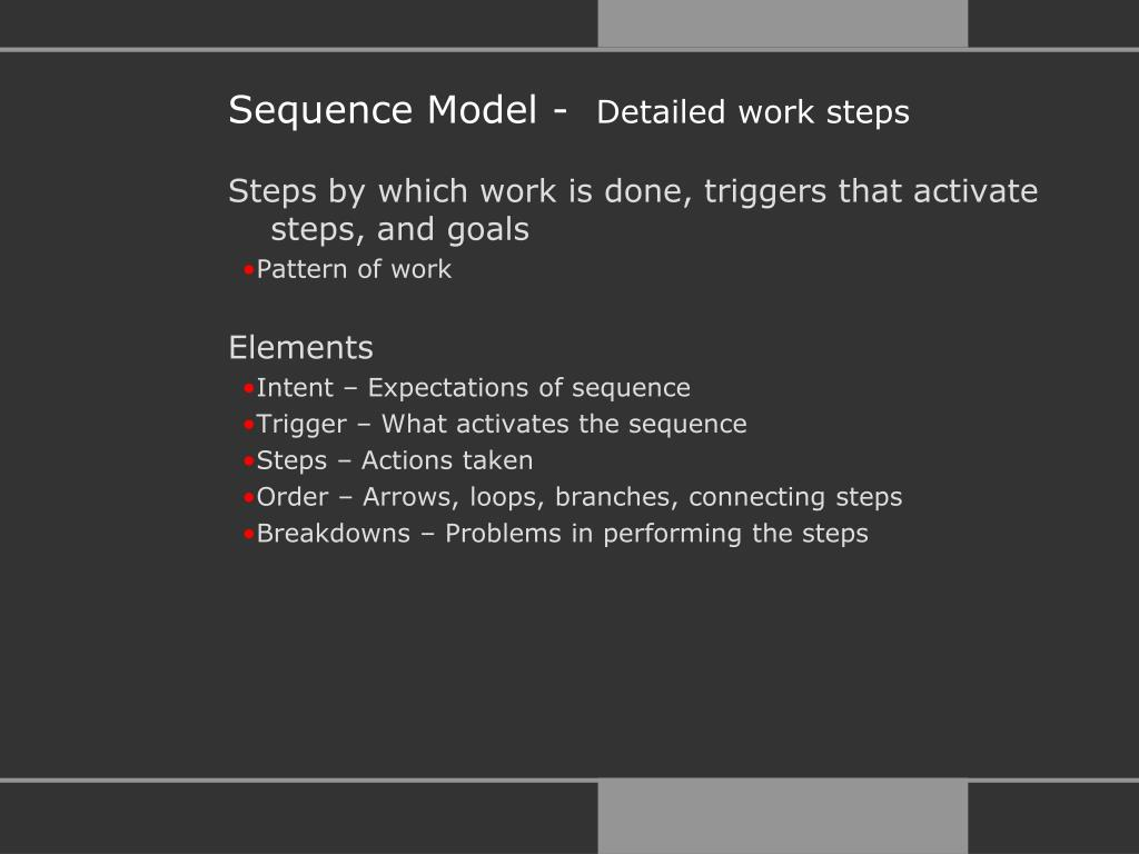 Sequence Model -