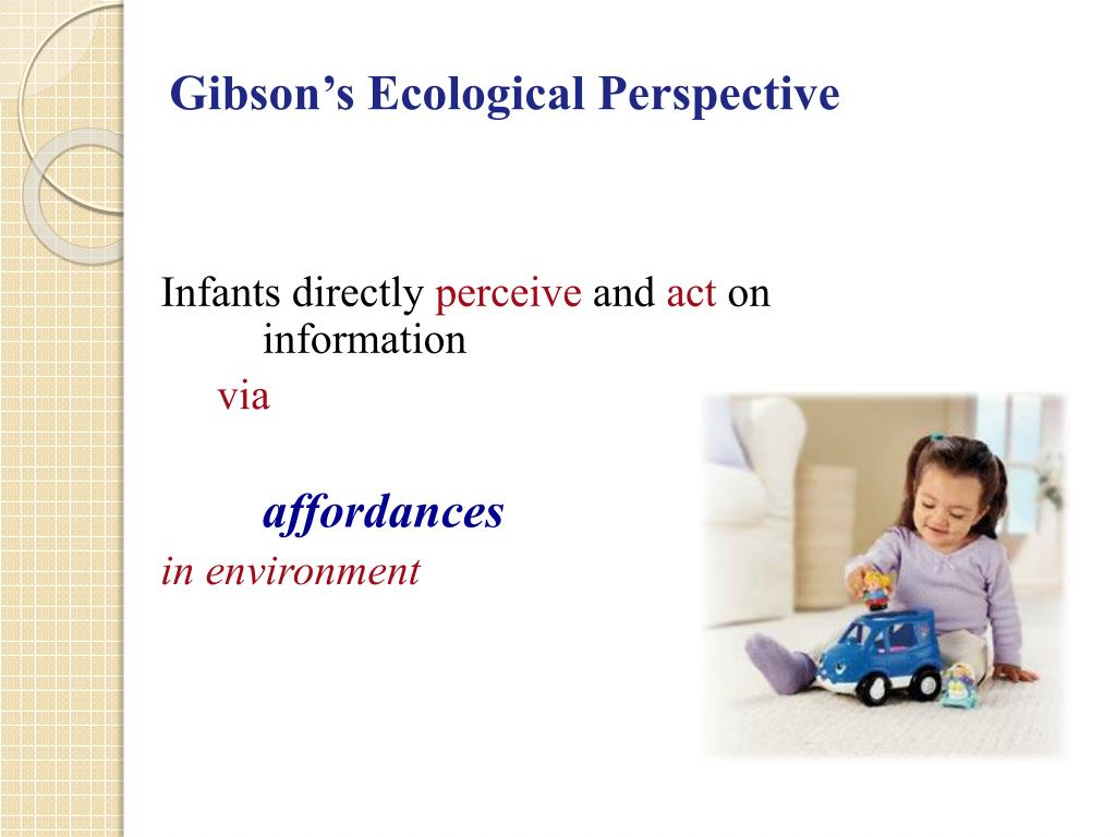 Gibson's Ecological Perspective