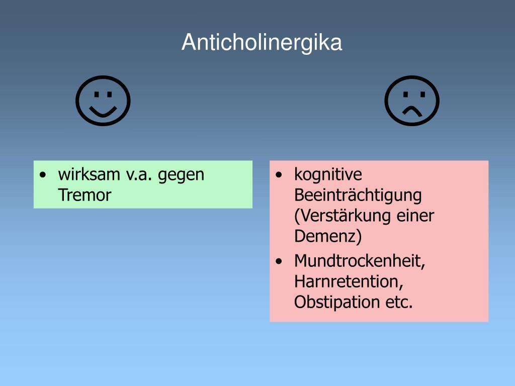 Anticholinergika
