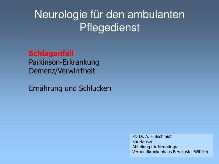 Neurologie f r den ambulanten pflegedienst2