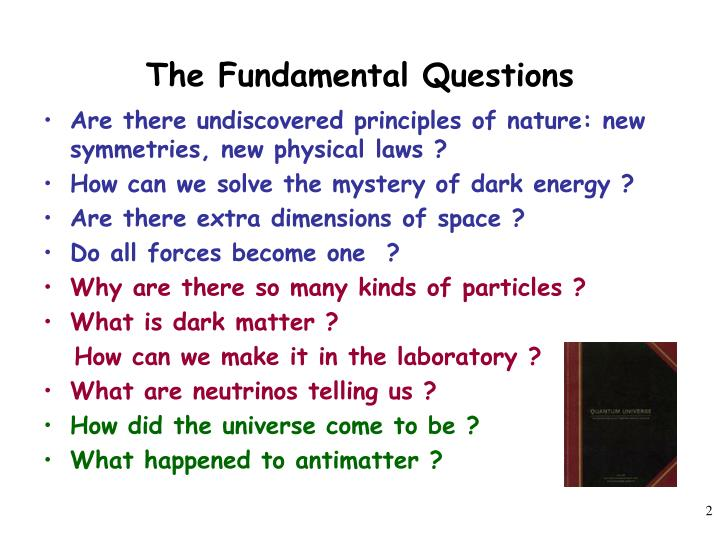 The fundamental questions l.jpg
