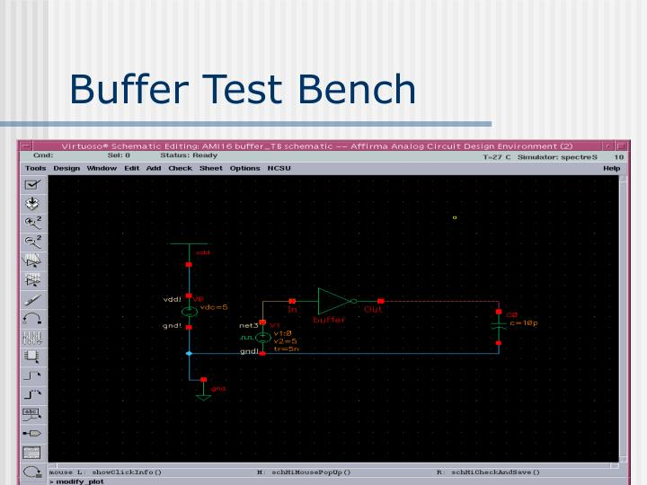 Buffer Test Bench